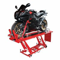 BikeTek Hydraulic Motorcycle Bike Lift | Workshop Table **Free Delivery UK & Ireland**