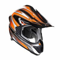 Stealth MX Edge Motocross Helmet - HD203 (Orange)