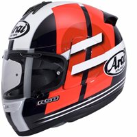 Arai Axces III Motorcycle Helmet Sensai (Red)
