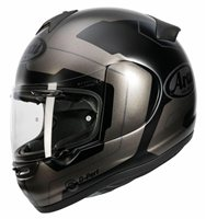 Arai Axces III Motorcycle Helmet Line (Black)
