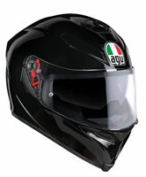 AGV K5-S Gloss Black Motorcycle Helmet