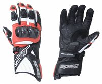 RST Blade II CE Motorcycle Gloves 2125 (Red)