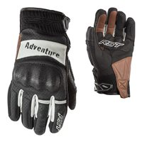 RST Adventure CE Motorcycle Glove 2109 (Black/Silver)