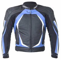 RST Blade II Leather Jacket 1845 (Blue)