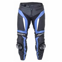 RST Blade II Leather Motorcycle Trousers 1846 (Blue)