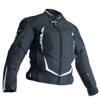 RST Blade Sport II Ladies Motorcycle Jacket 1961 (Black/White)