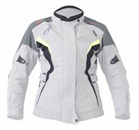 RST Gemma Ladies Textile Motorcyle Jacket 1783 (Flo Yellow/Silver)
