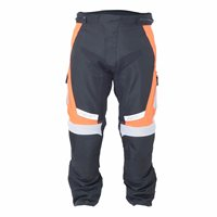 RST Rallye Textile Motorcycle Trousers 1889 (Flo Red/Orange)