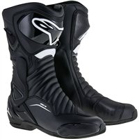 Alpinestars SMX-6 v2 Drystar Waterproof Motorcycle Boot (Black)