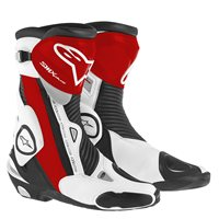 Alpinestars SMX Plus Motorcycle Boot (Black/Red/White)