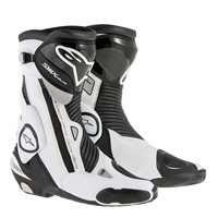 Alpinestars SMX Plus Motorcycle Boot (Black/White)
