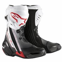 Alpinestars Supertech R Motorcycle Boot (Black/White/Red)
