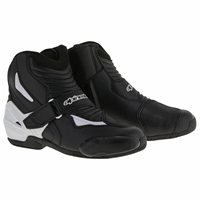 Alpinestars SMX-1R Motorcycle Boot (Black/White)