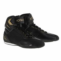 Alpinestars Stella Faster 2 Ladies Motorcycle Boots (Black/Gold/White)