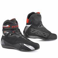 TCX Rush Waterproof Short Motorcycle Boot (Black)