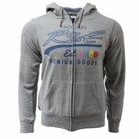 RST Ladies Full Zip Casual Hoodie 0177 (Grey)