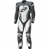Held Rush One Piece Motorcycle Leathers 5714 (Black/White)
