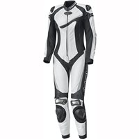 Held Ayana II One Piece Womens Motorcycle Leathers 5711 (White/Black)