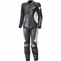 Held Ayana II One Piece Womens Motorcycle Leathers 5711 (Black/White)