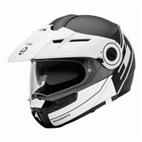 Schuberth E1 Flip Front Motorcycle Helmet (Radiant White) **20% Off Matching Intercom System**