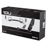 Sena 10U Motorcycle Bluetooth Communication System - Arai Full Face Helmet