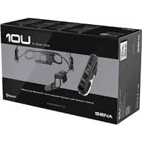 Sena 10U Motorcycle Bluetooth Communication System - Shoei GT Air Full Face Helmet
