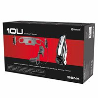 Sena 10U Motorcycle Bluetooth Communication System - Shoei Neotec Full Face Helmet