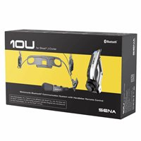 Sena 10U Motorcycle Bluetooth Communication System - Shoei J-Cruise Helmet