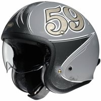 Shoei J.O Open Faced Helmet GRATTE-CIEL TC10