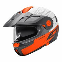 Schuberth E1 Flip Front Motorcycle Helmet (CROSSFIRE ORANGE) **20% Off Matching Intercom System**