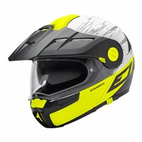 Schuberth E1 Flip Front Motorcycle Helmet (CROSSFIRE YELLOW) **20% Off Matching Intercom System**