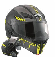 AGV COMPACT ST Seattle (Black/Silver/Yellow)