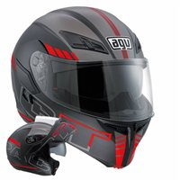 AGV COMPACT ST Seattle (Black/Silver/Red)