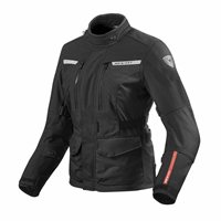 Ladies Motorcycle Jacket Horizon 2 (Black) by Revit