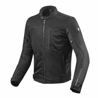 Revit Motorcycle Jacket Vigor (Black)- FJT230