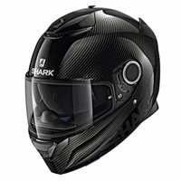 Shark Spartan Carbon Skin Motorcycle Helmet (Black)
