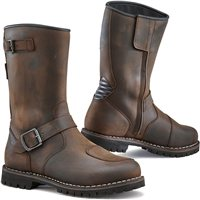TCX Fuel Waterproof Motorcycle Boots (Brown)