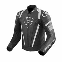 Revit Motorcycle Jacket Spitfire (Black/White)