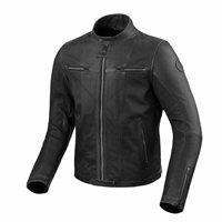 Revit Motorcycle Jacket Roswell (Black)