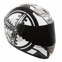 Box BX-1 Scope Full Face Helmet (Black)