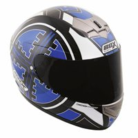 Box BX-1 Scope Full Face Helmet (Blue)