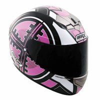 Box BX-1 Scope Full Face Helmet (Pink)