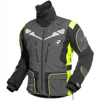 Rukka Orivesi Gore-Tex Motorcycle Jacket (Grey/Yellow)