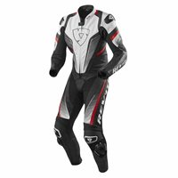 Revit One Piece Leathers Spitfire (White/Red)
