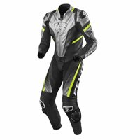 Revit One Piece Leathers Spitfire (Silver/Neon Yellow)