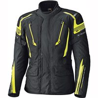 Held Caprino Gore-Tex Motorcycle Jacket (Black/Flo Yellow)