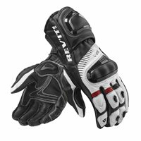 Revit Motorcycle Gloves Spitfire Gloves (Black/White)