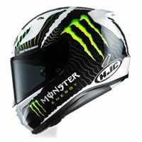 HJC RPHA 11 Monster Energy Helmet (White/Black)