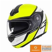 Schuberth C3 PRO ECHO YELLOW Motorcycle Helmet
