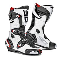 Sidi Mag-1 Air Motorcycle Boots (White/Black)